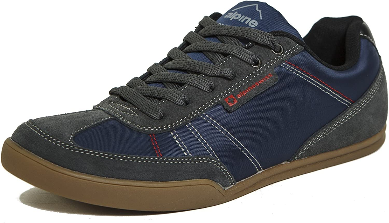 Alpine Swiss Marco Men's Retro Tennis shoes Suede Trim Fashion Sneakers