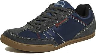 Marco Mens Retro Tennis Shoes Suede Trim Fashion Sneakers
