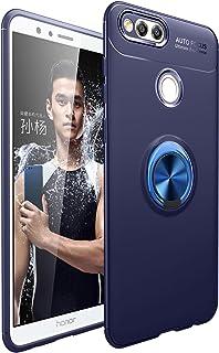 جراب XINKO لهاتف Huawei Honor 7X، PC TPU 2 في 1 Ultra Silm Cover Ring bracket [نحيف] [مضاد للخدش] [امتصاص الصدمات] [متين]...