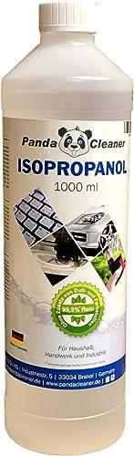 PANDACLEANER® Isopropanol/alcool ménager 1000 ml – Liquide nettoyant pour maison, artisanat et industrie – Avec dispo...