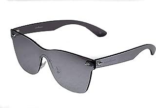 Framelaess Rimless Sunglasses wayfarer Style silver