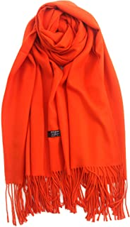 Winter tassel pashmina shawl scarf Womens Large Soft and Comfortable Cashmere Feel Blanket