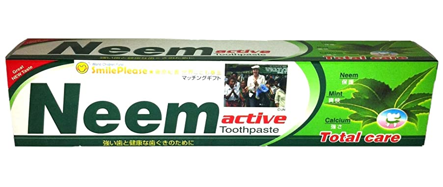 未来ビジュアル脇にニーム(Neem) 歯磨き粉 200g