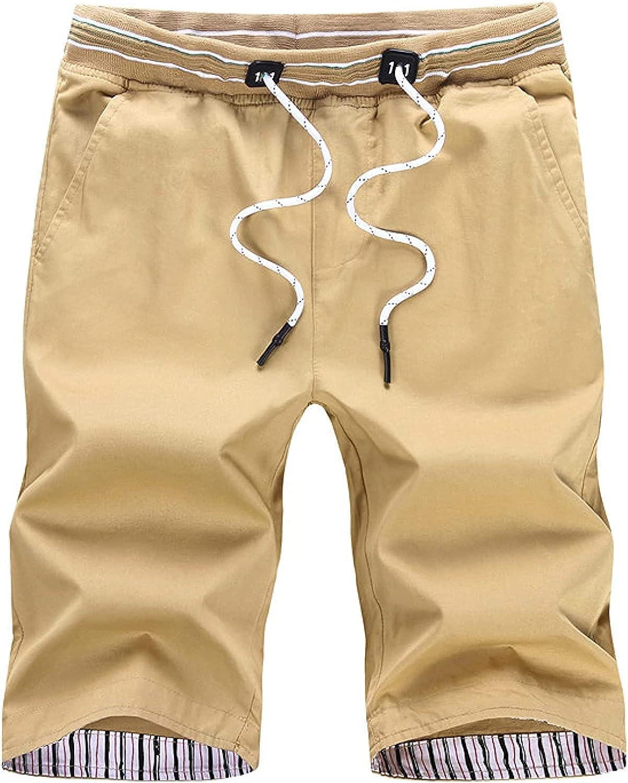 Men's Plus Size Straight Shorts Simple Thin Comfortable Versatile Fashion