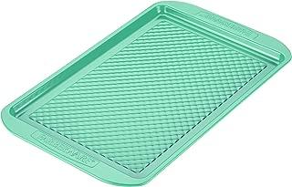 Farberware 46327 Ceramic Nonstick Bakeware, Nonstick Cookie Sheet / Baking Sheet - 10 Inch x 15 Inch, Aqua Blue