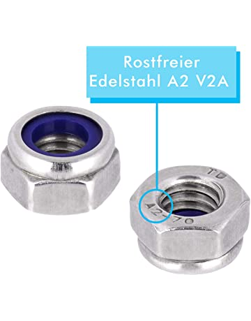 Hex Nuts Stainless Steel A2 DIN 934 Nuts V2A M 2-M 30