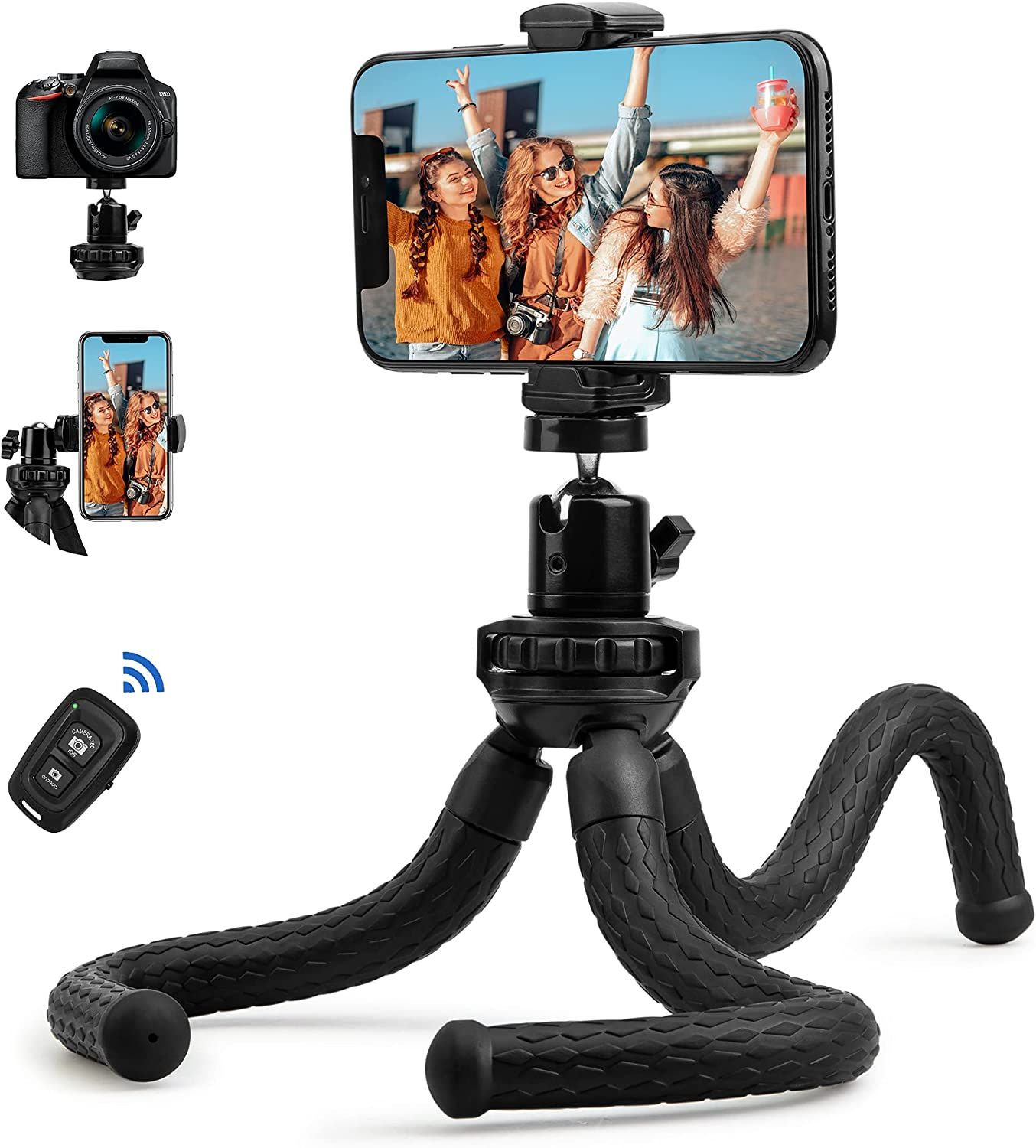 Fotopro sold out Flexible Tripod for iPhone Remote with Camera supreme T