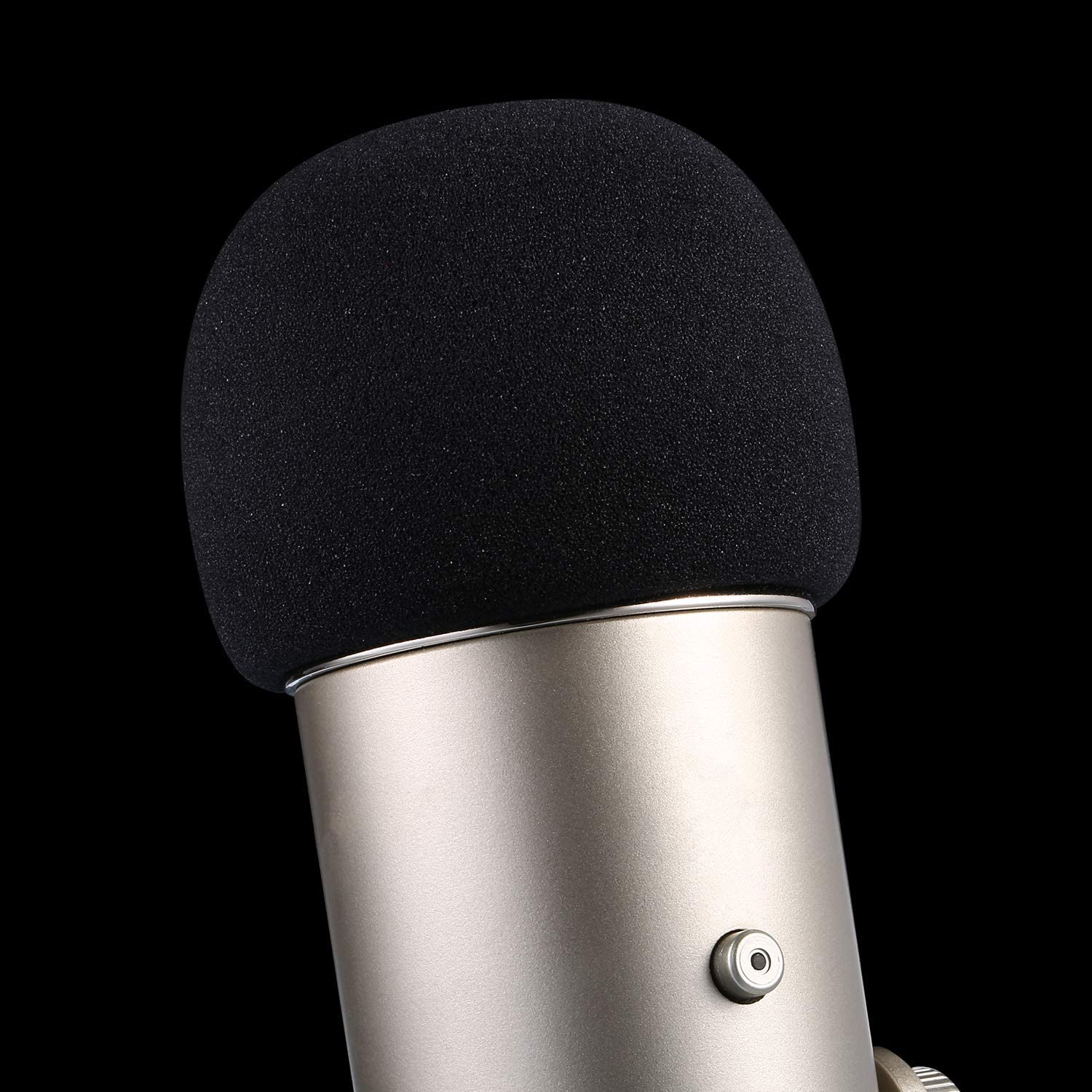 Mic Cover Foam Microphone Windscreen for Blue Yeti, Yeti Pro Condenser Microphone (Size A, 1 Pack) : Musical Instruments