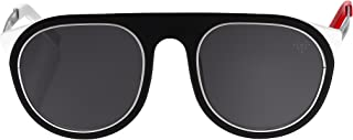 Vysen Troy Retro Style Sunglasses, Unisex Stainless Steel Frame, Classic Eyewear Design for Men and Women, Handmade in Italy