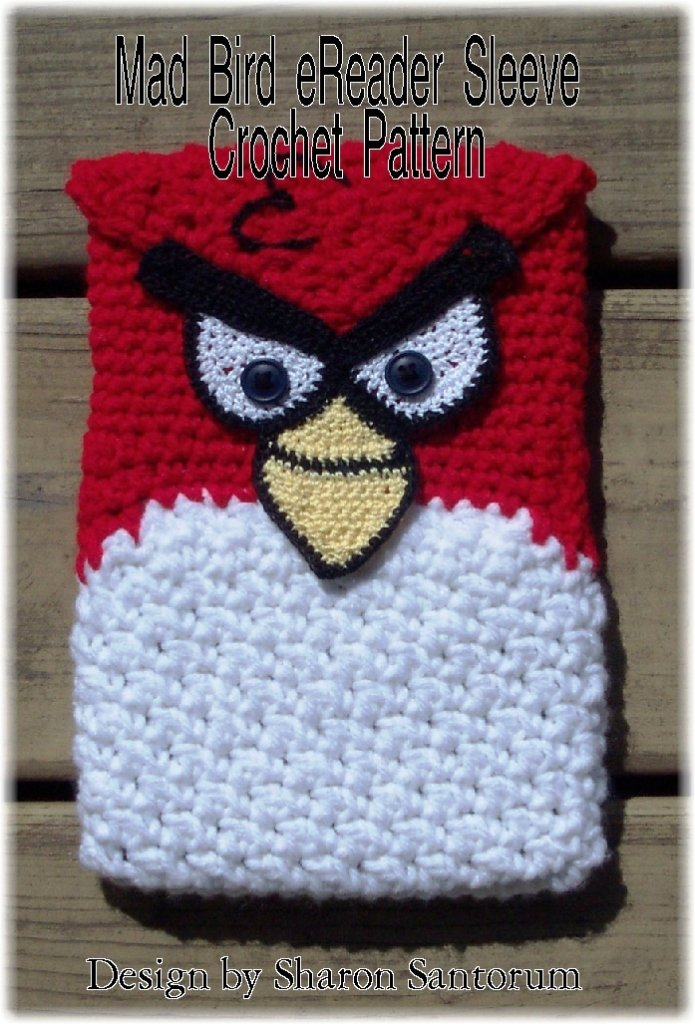 Red Angry Bird | Lanas y Ovillos | 1024x695