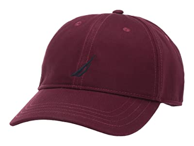 Nautica J Class Cap (Royal Burgundy) Baseball Caps