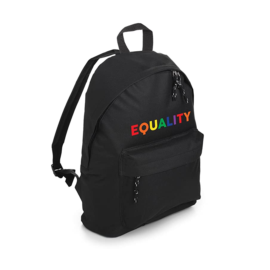 Equality Backpack School Bag Tumblr Hipster Grunge Lgbt Gay Rainbow Fun