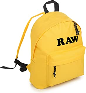 Raw Backpack School Bag Tumblr Hipster Grunge Avocado Green Vegan
