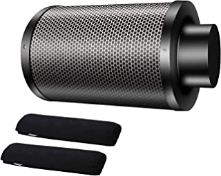 HG Power Air Purifier Carbon Filter Odor Control Scrubber with 38mm Australia Activated Charcoal Filter for Indoor Grow Te...