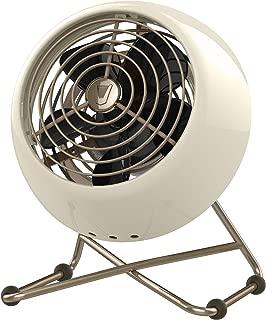Vornado VFAN Mini Modern Personal Vintage Air Circulator Fan, Vintage White