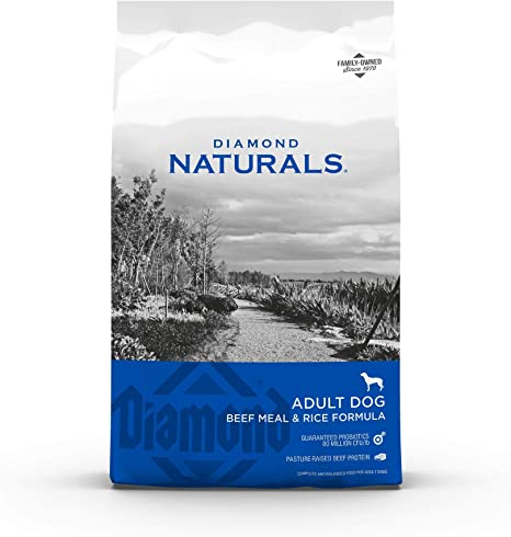 Diamond Naturals Dry Food for Adult Dogs Beef and Rice Formula   Amazon