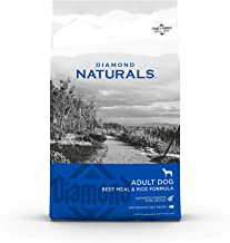 Diamond Naturals Dry Food for Adult Dog, Beef and Rice Formula, 40 Pound Bag (074198608331)