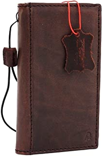 Genuine Italian Leather Hard Case for Iphone 6 Book 4.7 Inch Wallet Handmade S Luxury Handtec