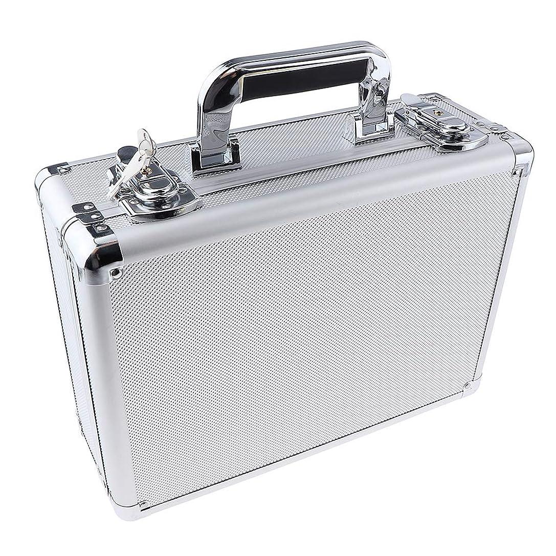 材料衰える巻き戻すToygogo 化粧品収納ボックス 大容量 ロックケース キャリーケース コスメ収納 ポータブル 旅行