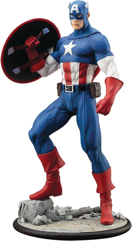 Kotobukiya Marvel Comics  Captain America Modern Myth Artfx Statue
