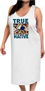 TooLoud True Native American Adult Tank Top Dress Night Shirt