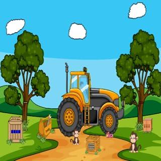 Giant Tractor Escape