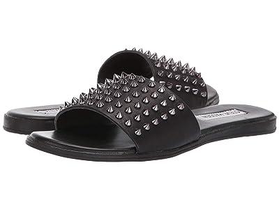 Steve Madden Farryn Flat Sandals (Black) Women