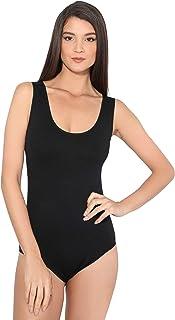 Body Mujer Tirantes Lycra Básico Top Moda