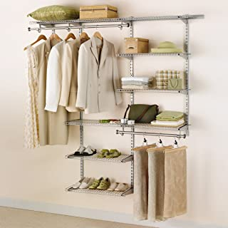 4 foot closet organizer with drawers