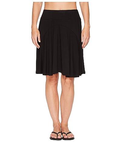 Royal Robbins Essential Tencel(r) Skirt (Jet Black) Women