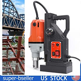 Magnetic drill,1100w Metal Drill Electric Magnetic Drill Press 110V High Power Z3040 US Warehouse