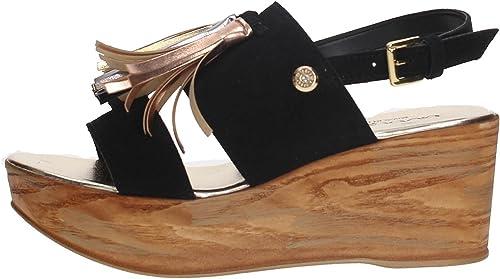 Byblos 672213 Sandale Femme noir 35 35  grande remise