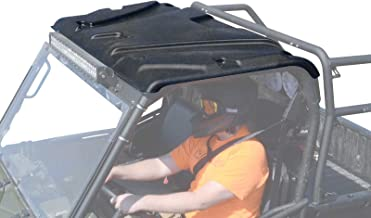 SuperATV Plastic Roof for Polaris Ranger Full Size 500/570 / 800 / 6x6 / 900 Diesel (See Fitment) - Easy to Install!