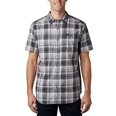 Columbia Leadville Ridgetm Short Sleeve Shirt II (Columbia Grey Ombre Plaid) Men