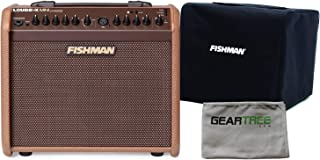 Fishman Loudbox Mini Charge Battery Powered Acoustic Guitar Amp w/Slip Cover an