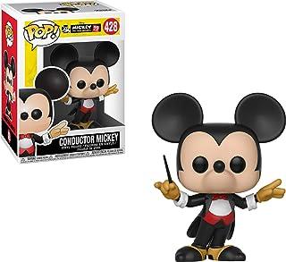 Funko Pop Disney: Mickey's 90Th – Figura coleccionable de conductor Mickey, multicolor