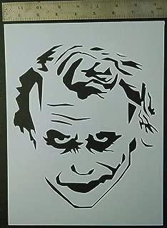 Custom Stencil Evil Clown New Collection