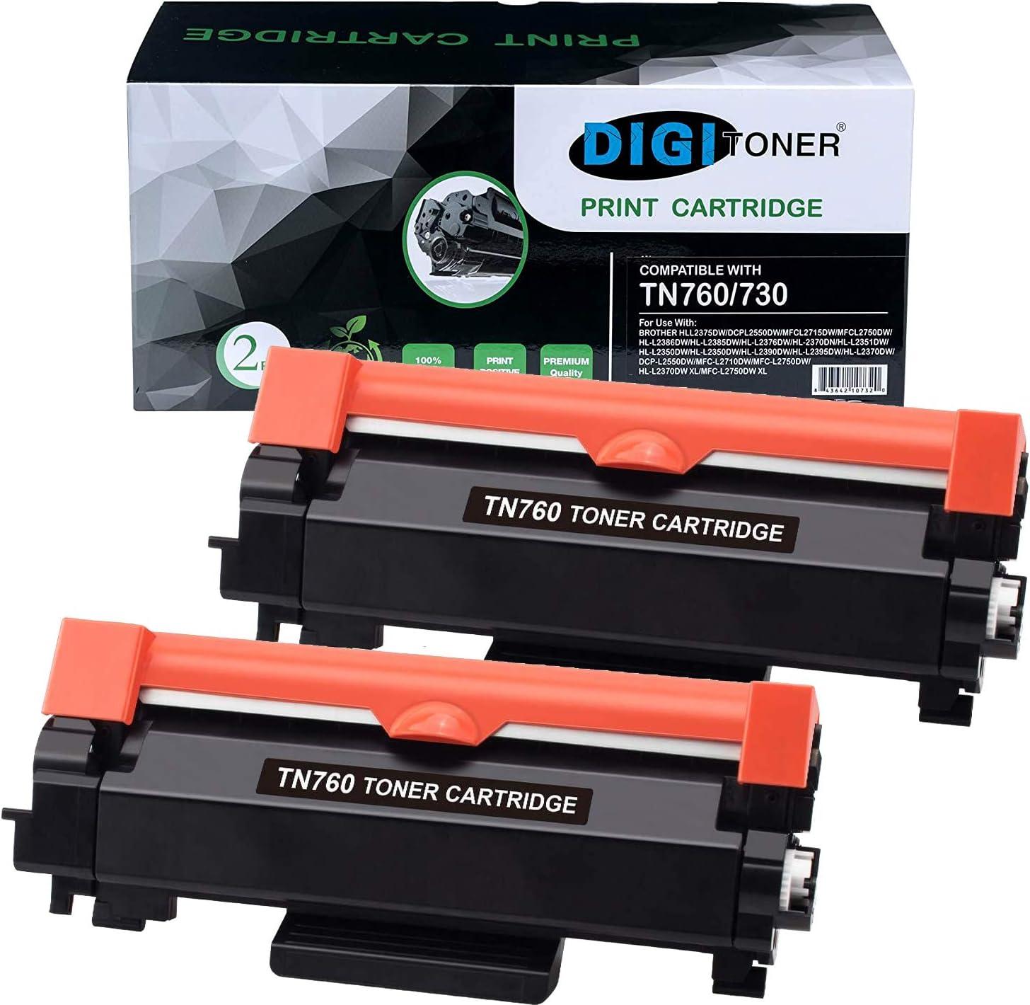 Computers & Accessories Nov 3 - Pack TN-760 Compatible Black Toner ...