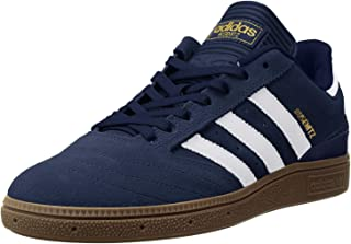 adidas Mens Busenitz Suede Trainers Red