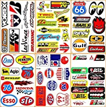 Cars Motor STP Esso Gulf 76 Oil NHRA Drag Racing Lot 6 Vinyl Graphic Decals Stickers D6095