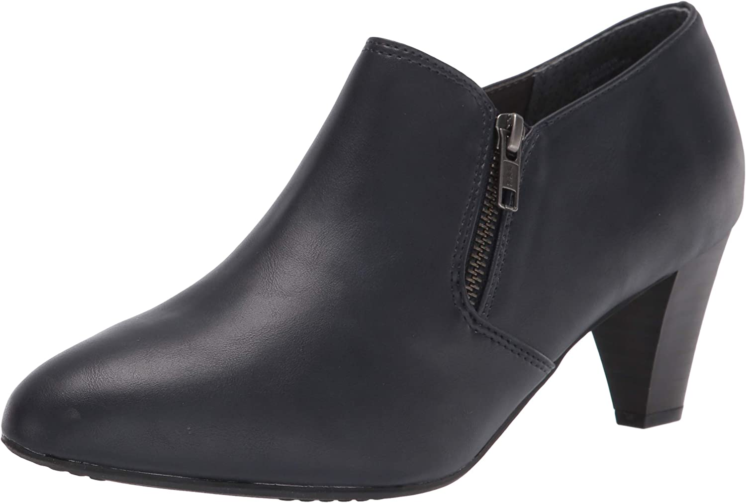 Rialto Women's Finally popular brand Sarina Navy Smooth Size Wide 5% OFF Ankle 10 Boot 10W