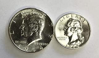 quarter dollar 1964