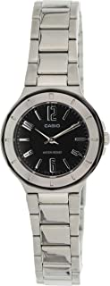 Core Quartz Movement Black Dial Ladies Watch LTP-1367D-1A1DF
