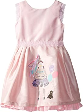 17ae1065bf44 Birthday Wishes Party Dress (Toddler/Little Kids/Big Kids). fiveloaves  twofish