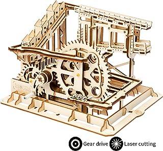 comprar comparacion ROKR Mechanical Gears DIY Building Kit Modelo mecánico Kit de construcción con Bolas para Adolescentes y Adultos (Cog Coas...