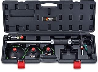 EWK Pneumatic Slide Hammer Vacuum Dent Puller Air Suction Cup Paintless Car Body Repair Kit + CASE