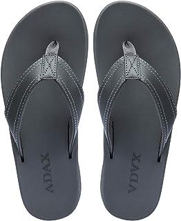 Men's Flip Flops Thong Comfortable Soft Leather Sandals