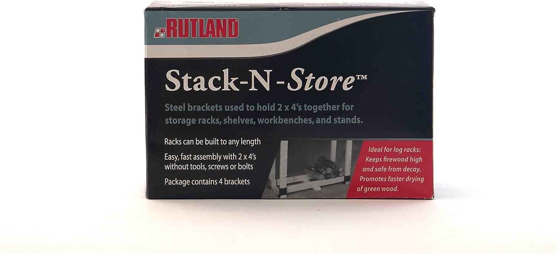 Rutland Stack N Store Corner Building Racks Many popular brands Philadelphia Mall for Storage Brackets