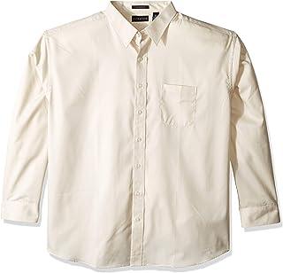 قميص UltraClubs رجالي ULTC-8991-Whisper Elite من نسيج التويل، لون رمادي 3X-Large