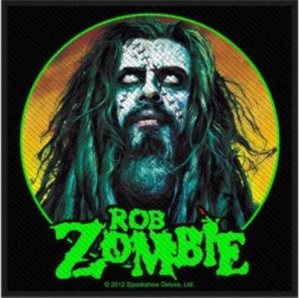 Rob Zombie - Free shipping All items free shipping anywhere in the nation Face Patch